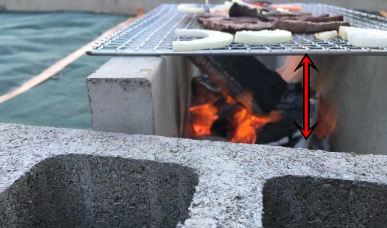 U字溝でBBQは焼けるのに時間がかかる|写真
