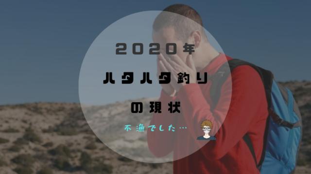 2020年|ハタハタ釣りは不漁|アイキャッチ画像