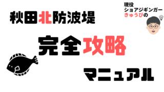 秋田北防波堤【2021】現役ショアジギンガーによる完全攻略法