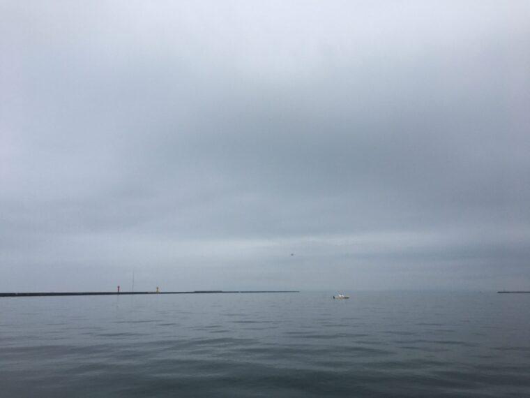 秋田北防波堤の画像